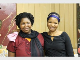 Florence Nxumalo and Monica Nongadlela.