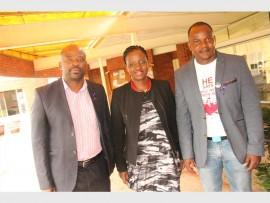 Mzoxolo Rusi, NPA, senior state advocate, General Phumelele Makhoba and Baptist Church Pastor, Forbes Maupe.