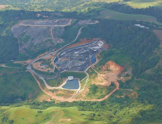 The Shongweni Landfill site.