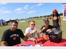 Harry Naidoo, Arno Botes, Darren Lewis and Zama Mchunu.