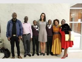 Bongani Mahlangu, Adam Zuma, Zakhe Qwase, Caroline Parker, Seluleko Ndlovu, Nonhlanhla Griffiths and Sthoko Shange.
