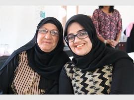Sameera Ebrahim and Shaida Sardiwalla.
