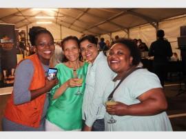 Zama Mofokeng, Duh Dlamini, Asiyk Hoosain and Lirdi Kunene.