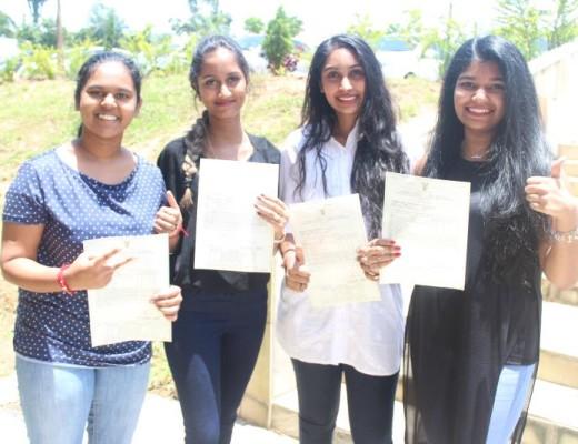 Star College Girls' High learners, Pryaska Sukdeo, Chiara Rajcoomar, Saiyuri Naidoo and Lukrisha Ramadu achieved eight distinctions each.