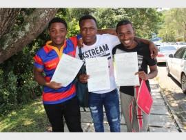 Nhlakanipho Ncama, Bhekumuzi Shongwe and and Luyanda Mzizi.
