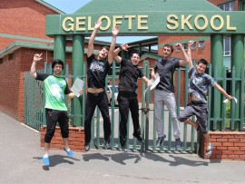 Brendan Joubert, Shane Viljoen, Christiaan Marx, Jan Harm Botha and Jon-Henry Coetzee.
