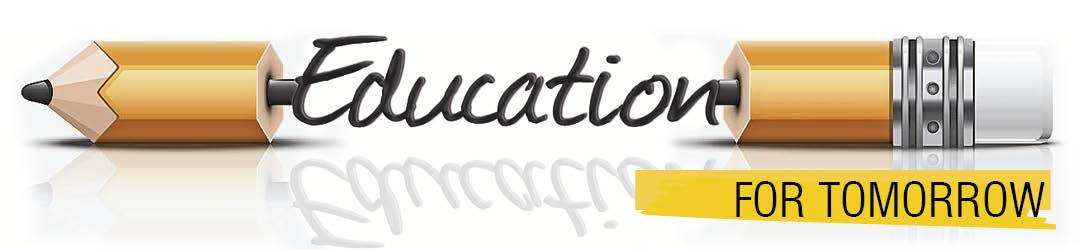 Education for tomorrow aug 2017