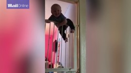 Could this toddler replace Wentworth Miller on Prison Break?