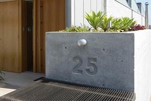 Concrete address relief