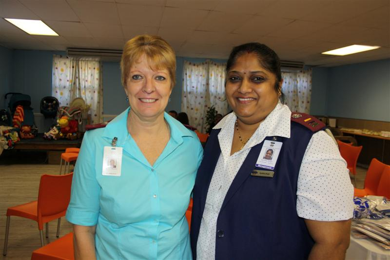 Vicky Wilkinson (Stork's Nest manager) and Sunitha Singh (NetcareUmhlanga Hospital maternity unit manager).