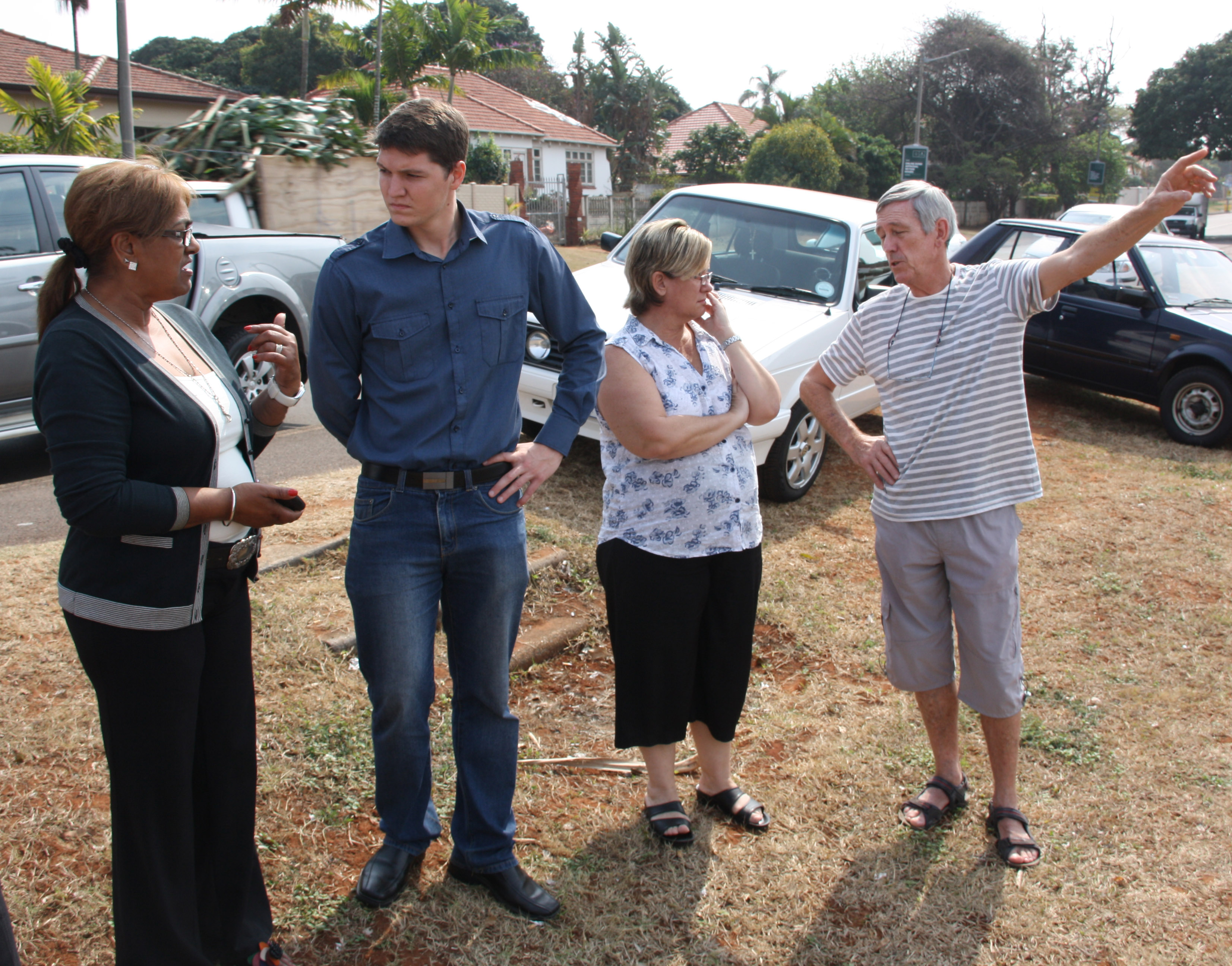 Vacant land now vagrants' land - Northglen News