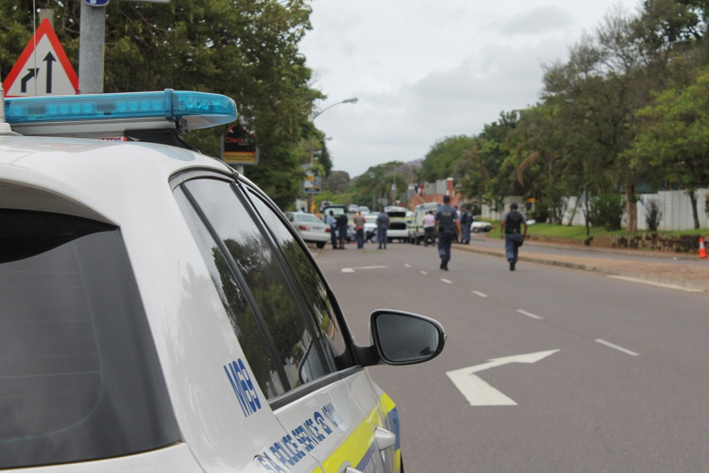 Bullets fly during high speed chase in Durban North