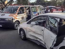 One person was seriously injured in the accident. PHOTO: Netcare 911
