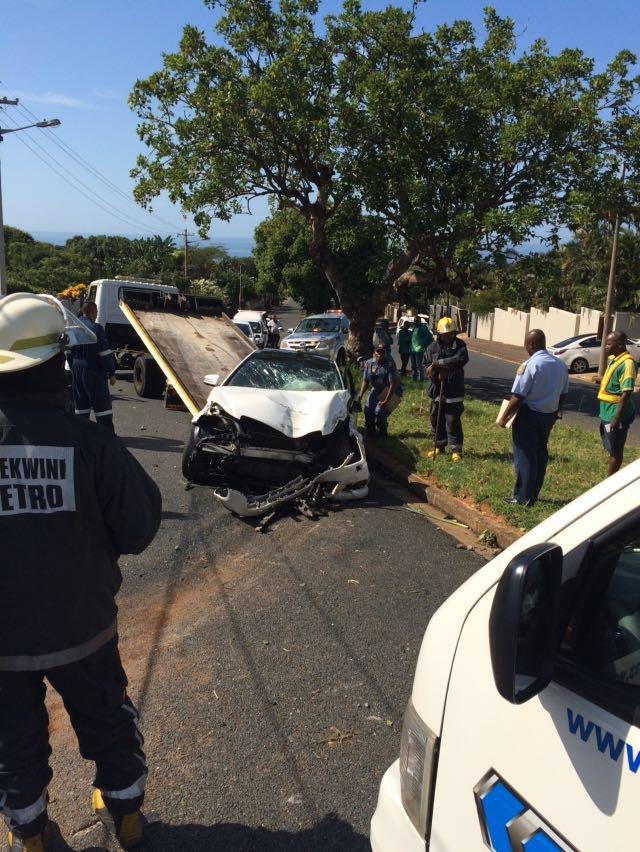 3 Seriously Injured In Durban North Crash Northglen News