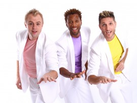These talented vocalists, Andrew Webster, Gift Gwe and Lee Paver form part of the cast of 1 Hit Wonder which kicks off at The Barnyard on 31 May.
