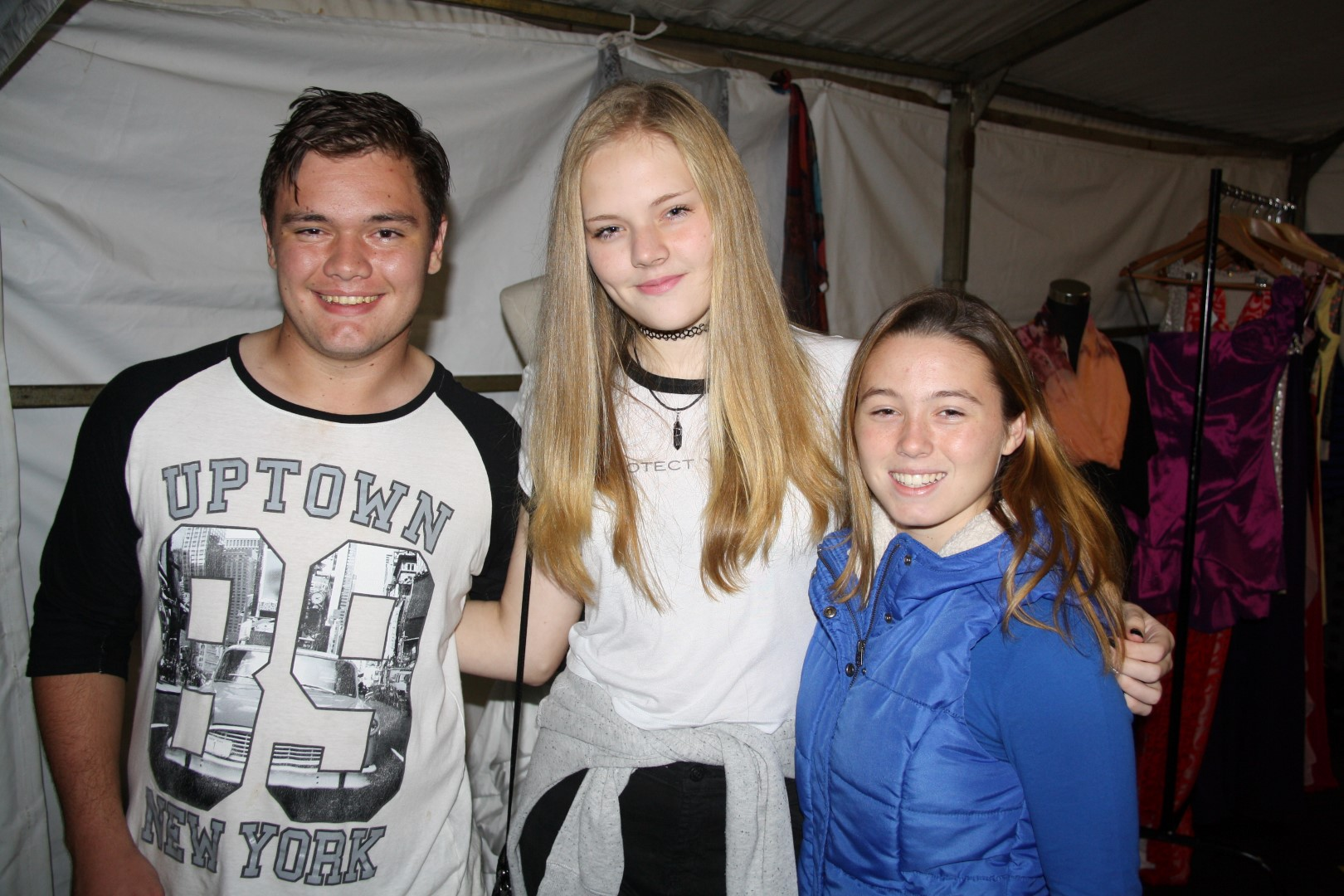 Durban North College recently hosted it's annual night market which was once again a resounding success for the school. Photo booths, live music, a bonfire and a shooting range were just some of the attractions on the night. Alex Carstens, Christie Voigt and Chelsea-Lea Smith.