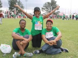 Nokwazi Ngobese, Hlonelikhaya Mnyabiso and Jabu Mangobese.