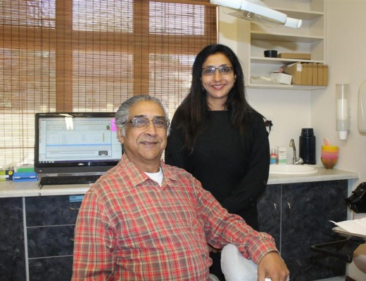 Dr Sundar 'Sikki' Singh, the founder of the Wentworth foundation and his daughter, Sureka Singh, who is also the chief managing officer of the foundation.