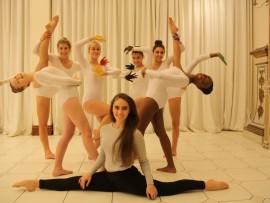 Some of the dancers involved in Jemma's music piece, Samantha Sharp, Natasha Radford, Samantha Lambson, Anna Yaghi, Zeina Yaghi, Nandi Mthethwa and choreographer Jemma van Breda.