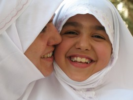 Eid is celebrated by spending time with ones family and visiting relatives to spread the joy.