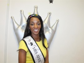 Mrs Africa finalist, Ntombi Gumede.