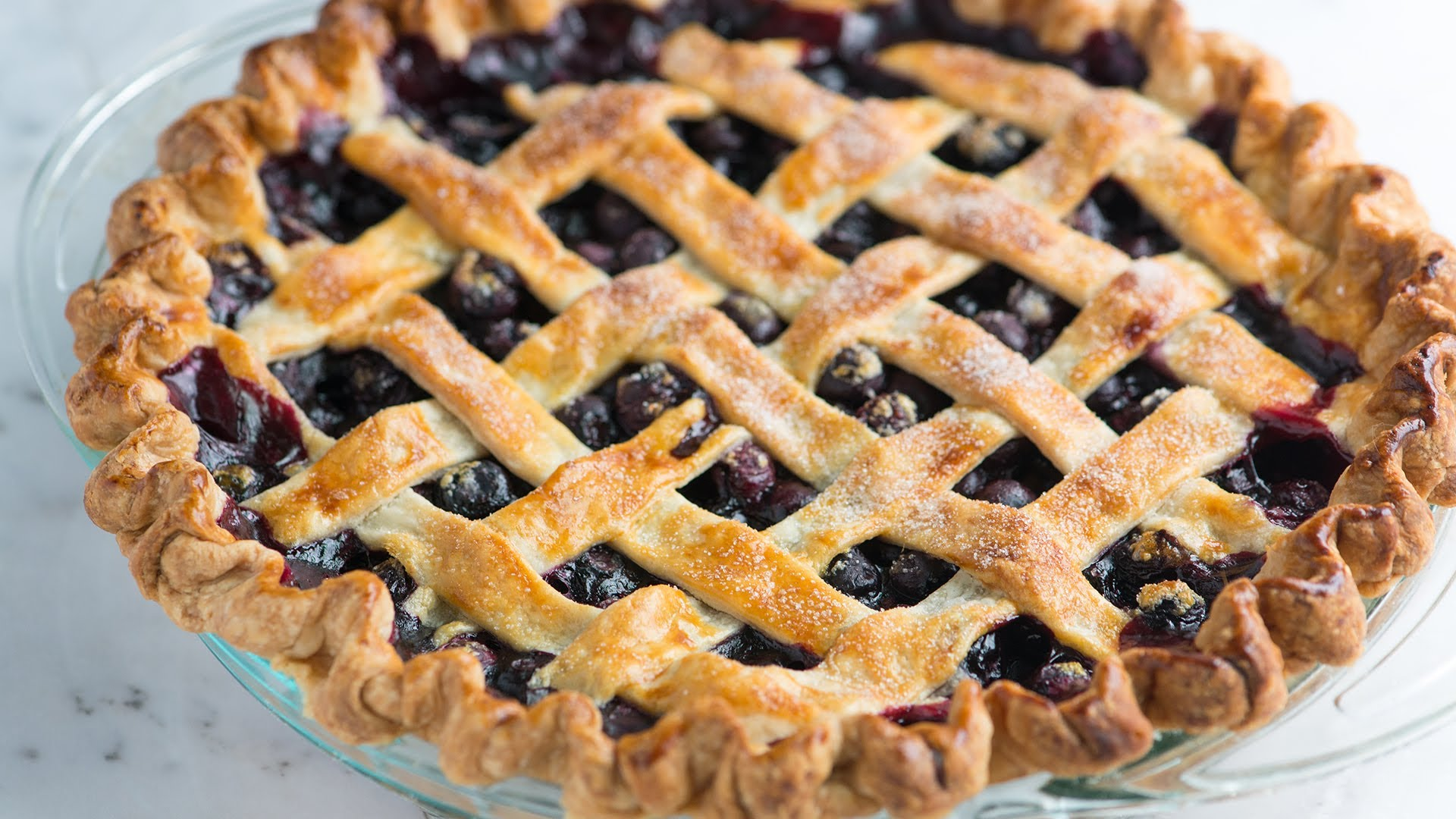 How to Make Homemade Blueberry Pie