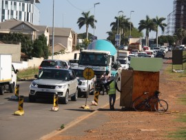 uMhlanga ward councillor, Heinz de Boer, said the construction work on Herrwood Drive and Preston Drive will soon be complete.