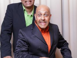 Koobeshen Naidoo (back) and Henry Ramkissoon from The Dingalings.