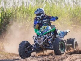 Vinni Naicker is involved in Motocross, world superbike (WSB) racing and off-road quad bike racing. PHOTO: AJ Lotz