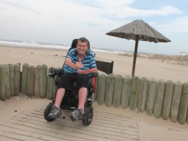 Frank Kruger hopes to see improved access at the Durban beaches.