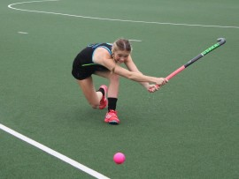Donna Small trains ahead of her trip to Chile to represent South Africa at the Junior Hockey Women's World Cup.