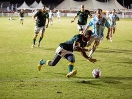 Durban North resident, Tonderai Chavanga, scored in the final game. PHOTO: Alan Waring