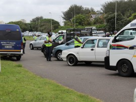Metro Police pulled over hundreds of the vehicles in the roadblock.