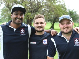 Marcel Pillay, Tim Vels and Shane Collins