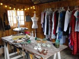 An inside look of Hope's Closet.
