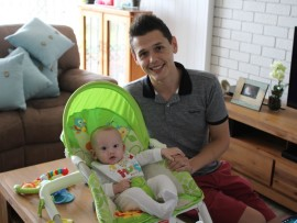 Calvin Pienaar recently started the Gay Parents Durban Facebook page in the hopes of providing a platform for gay parents in Durban. He is pictured with his son, Corbin.
