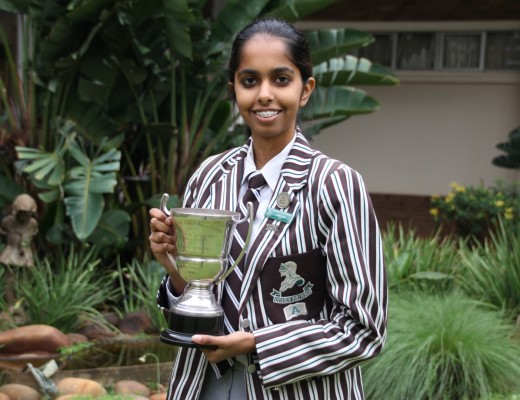 Sanam Daya, who was joint DUX at Northlands secured 8As.