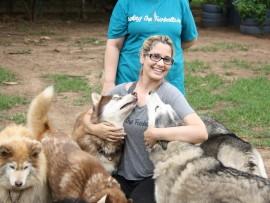 Local resident, Farrah Khan Maharajh has begun a food drive for the animal organisation Husky Rescue KZN.
