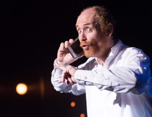 Aaron McIlroy's Comedy Masterclass is on at the Elizabeth Sneddon Theatre this month.