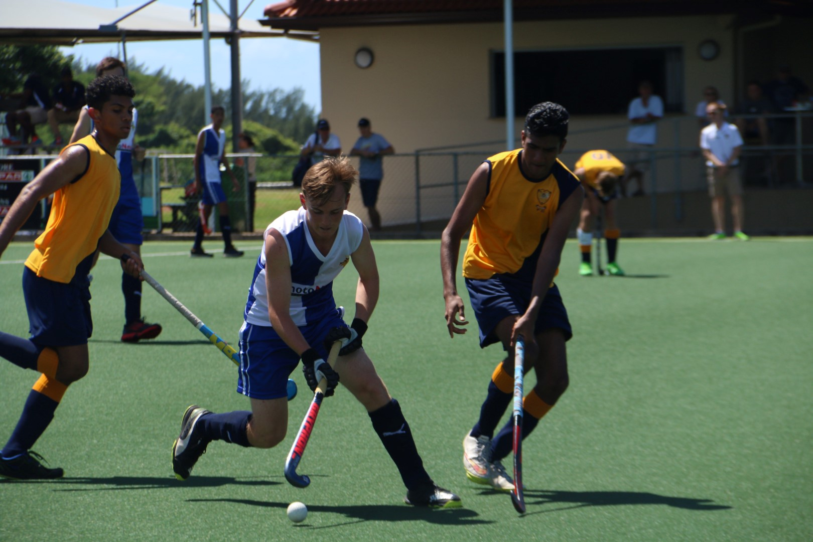 Northood School player Tyronne Laaks. PHOTO: Brian Gow