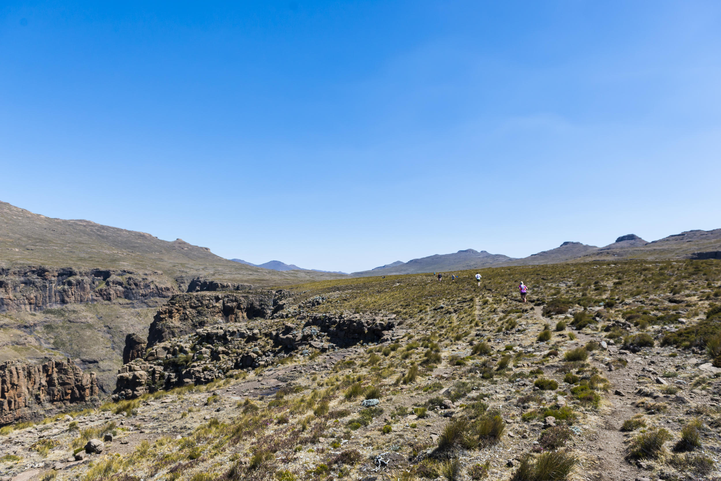 The 2017 Ultra-Trail Drakensberg has added another dimension to its already appealing offer with a novice-friendly Drakensberg Rockjumper two day race taking place on Friday 28 to Saturday 29 April. PHOTO: Anthony Grote
