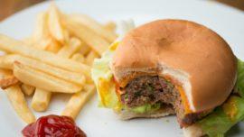 Have a healthy burger