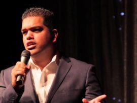 Joining Troye is Durban-based standup comedian Masood Boomgaard