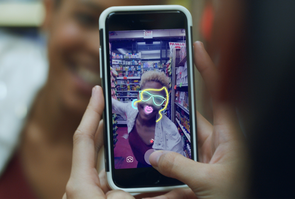 The new feature allows you to add special filters on the in-app camera. PHOTO: Facebook