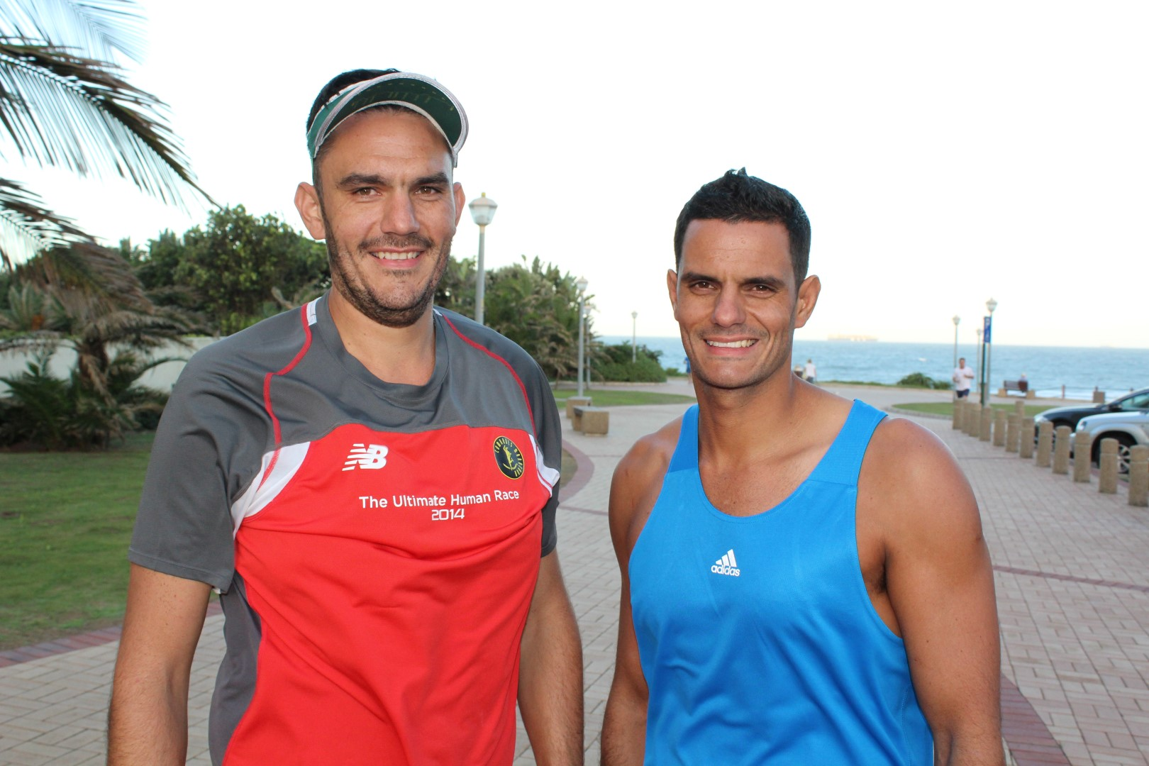 Duane and Jody Taylor are ready for this year's Comrades Marathon up-run.