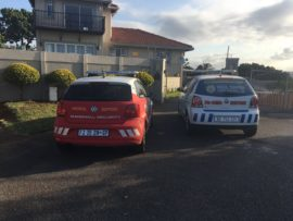 Marshall Security responded to the armed robbery on Leven Place.
