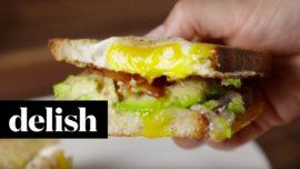 Must try: Delicious egg breakfast sandwich