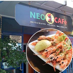 Neo Café  Tel: 031 563 5546