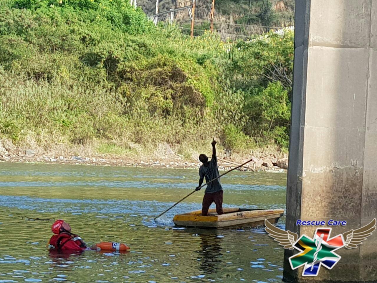 Man rescued after being stuck under Connaught Bridge