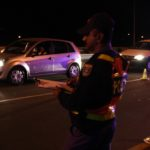 10 drivers were arrested on the night and charged with drunk driving.